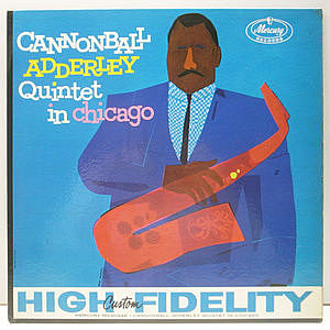 レコード画像:CANNONBALL ADDERLEY / In Chicago