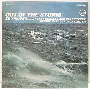 レコード画像:ED THIGPEN / Out Of The Storm