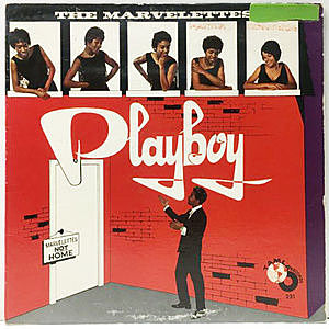 レコード画像:MARVELETTES / Playboy