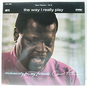 レコード画像:OSCAR PETERSON / The Way I Really Play