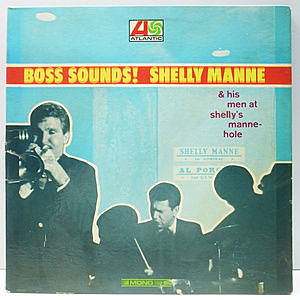 レコード画像:SHELLY MANNE / Boss Sounds! Shelly Manne & His Men At Shelly Manne-Hole