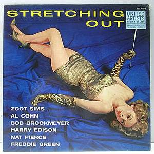 レコード画像:ZOOT SIMS / Stretching Out