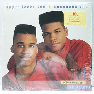 レコード画像:SUPER LOVER CEE / CASANOVA RUD / Girls I Got 'Em Locked