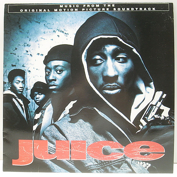 レコードメイン画像:極美盤!美品! UKオリジナル VARIOUS Juice ('92 MCA) O.S.T. サントラ NAUGHTY BY NATURE, ERIC B. & RAKIM, EPMD CYPRESS HILL ほか LP