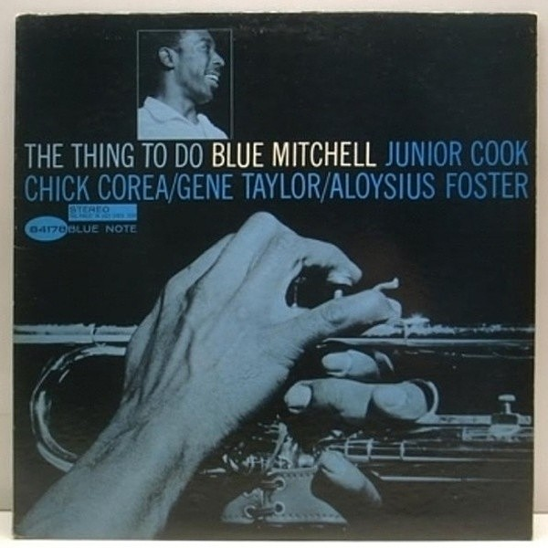 レコードメイン画像:ほぼ美品!! NEWYORK Orig. BLUE MITCHELL Thing to Do/ V.GELDER