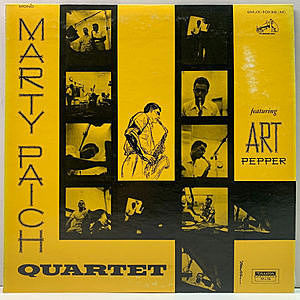 レコード画像:MARTY PAICH / ART PEPPER / Marty Paich Quartet