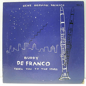レコード画像:BUDDY DeFRANCO / The Buddy DeFranco Quartet With Herman McCoy Choir