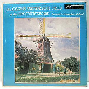 レコード画像:OSCAR PETERSON / At The Concertgebouw