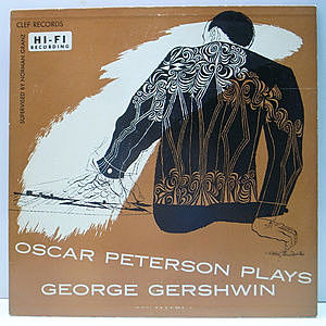 レコード画像:OSCAR PETERSON / Plays George Gershwin