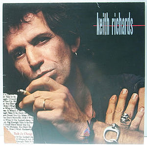 レコード画像:KEITH RICHARDS / Talk Is Cheap