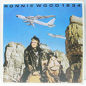 レコード画像:RONNIE WOOD / RON WOOD / 1234