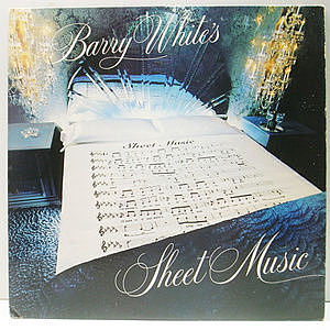 レコード画像:BARRY WHITE / Barry White's Sheet Music
