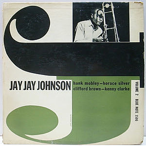 レコード画像:JAY JAY JOHNSON / The Eminent