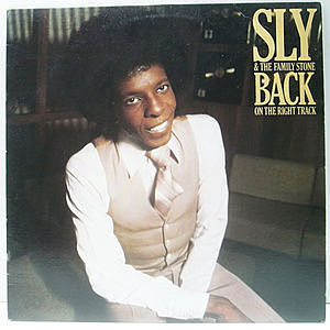 レコード画像:SLY & THE FAMILY STONE / Back On The Right Track