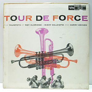 レコード画像:ROY ELDRIDGE / DIZZY GILLESPIE / HARRY EDISON / Tour De Force