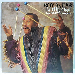 レコード画像:ROY AYERS / I'm The One (For Your Love Tonight)