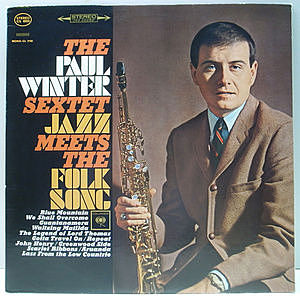 レコード画像:PAUL WINTER / Jazz Meets The Folk Song