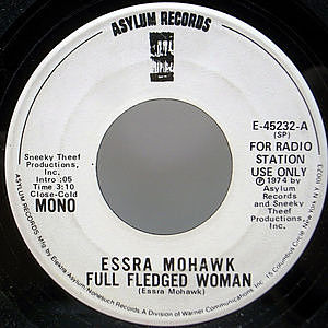 レコード画像:ESSRA MOHAWK / Full Fledged Woman