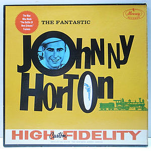 レコード画像:JOHNNY HORTON / The Fantastic Johnny Horton
