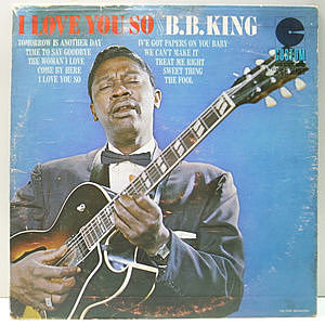 レコード画像:B.B. KING / I Love You So