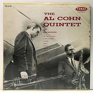 レコード画像:AL COHN / BOB BROOKMEYER / The Al Cohn Quintet Featuring Bob Brookmeyer