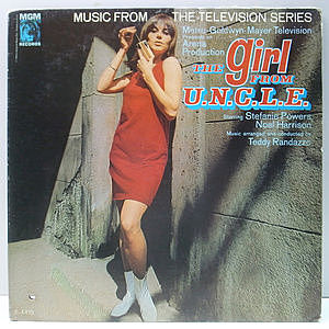 レコード画像:TEDDY RANDAZZO / The Girl From U.N.C.L.E.