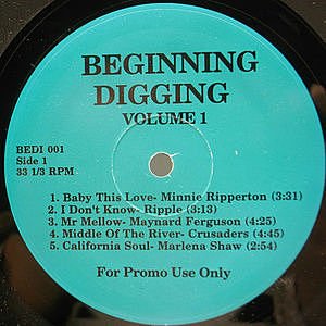 レコード画像:VARIOUS / Beginning Digging Volume 1