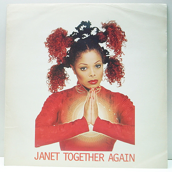 レコードメイン画像:【DJ PREMIER/TONY HUMPHRIESリミックス 5Ver.】UKオリジナル 12'' JANET JACKSON Together Again ('97 Virgin) 33 RPM. シングル