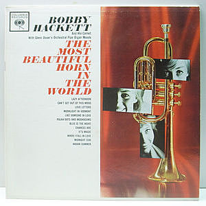 レコード画像:BOBBY HACKETT / The Most Beautiful Horn In The World