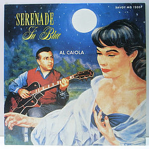 レコード画像:AL CAIOLA / Serenade In Blue