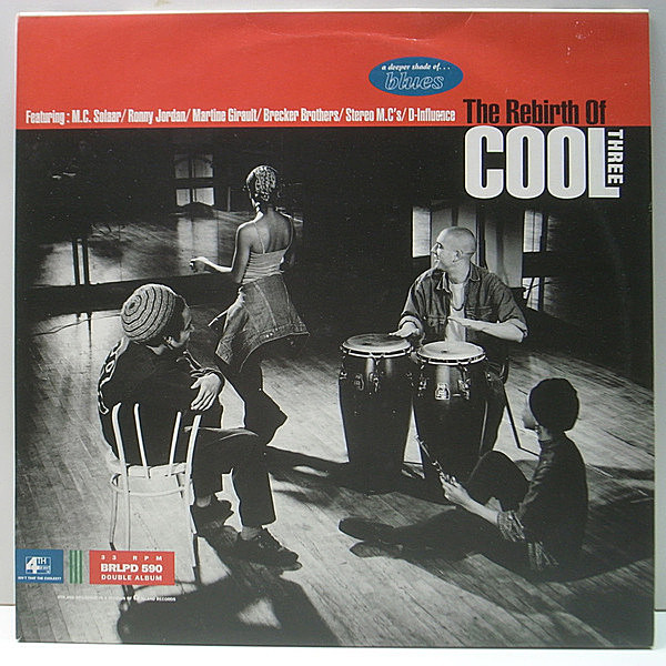 レコードメイン画像:美品 2Lp アナログ V.A.『The Rebirth Of Cool Three』Opaz, MC Solaar, The Subterraneans, Dodge City Productions | Patrick Forge