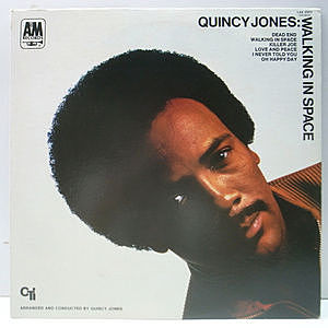 レコード画像:QUINCY JONES / Walking In Space