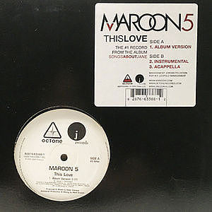 レコード画像:MAROON 5 / This Love