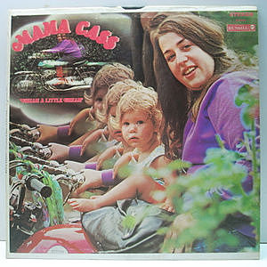 レコード画像:MAMA CASS / Dream A Little Dream