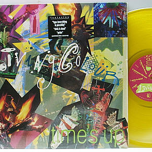レコード画像:LIVING COLOUR / Time's Up