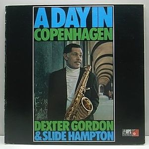 レコード画像:DEXTER GORDON / SLIDE HAMPTON / A Day In Copenhagen