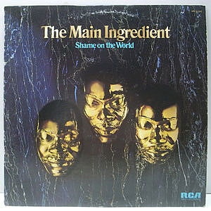 レコード画像:MAIN INGREDIENT / Shame On The World