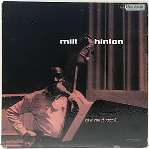 レコード画像:MILT HINTON / East Coast Jazz 5