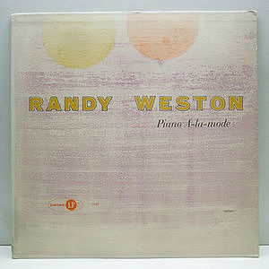 レコード画像:RANDY WESTON / Piano A-la-mode