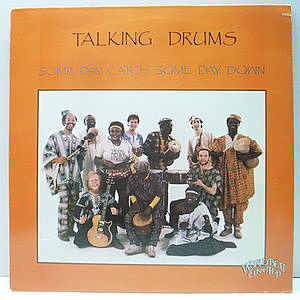レコード画像:TALKING DRUMS / Some Day Catch Some Day Down