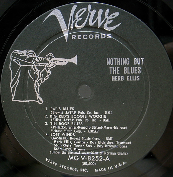 HERB ELLIS / Nothing But The Blues (LP) / Verve   WAXPEND RECORDS