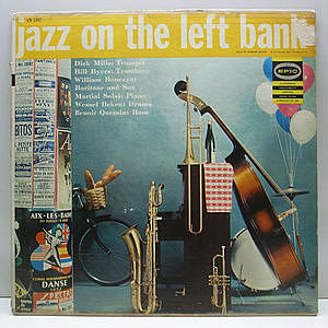 レコード画像:BILLY BYERS / MARTIAL SOLAL / DICK MILLS / Jazz On The Left Bank