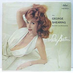 レコード画像:GEORGE SHEARING / White Satin