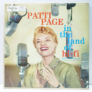 レコード画像:PATTI PAGE / In The Land Of Hi-Fi