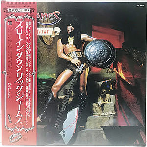レコード画像:RICK JAMES / Throwin' Down