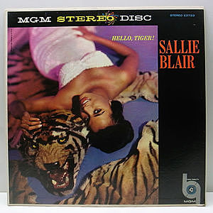 レコード画像:SALLIE BLAIR / Hello, Tiger