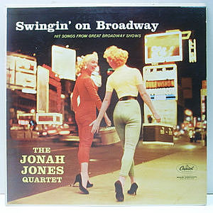 レコード画像:JONAH JONES / Swingin' On Broadway