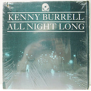 レコード画像:KENNY BURRELL / PRESTIGE ALL STAR / All Night Long