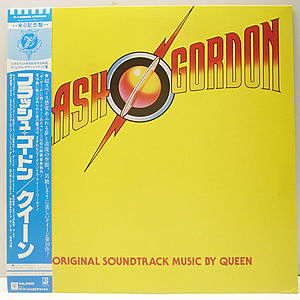 レコード画像:QUEEN / Flash Gordon (O.S.T)