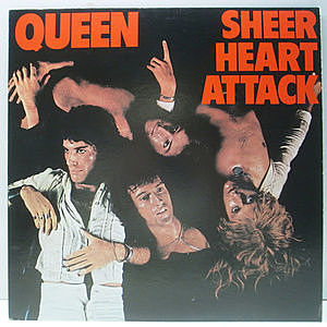 レコード画像:QUEEN / Sheer Heart Attack